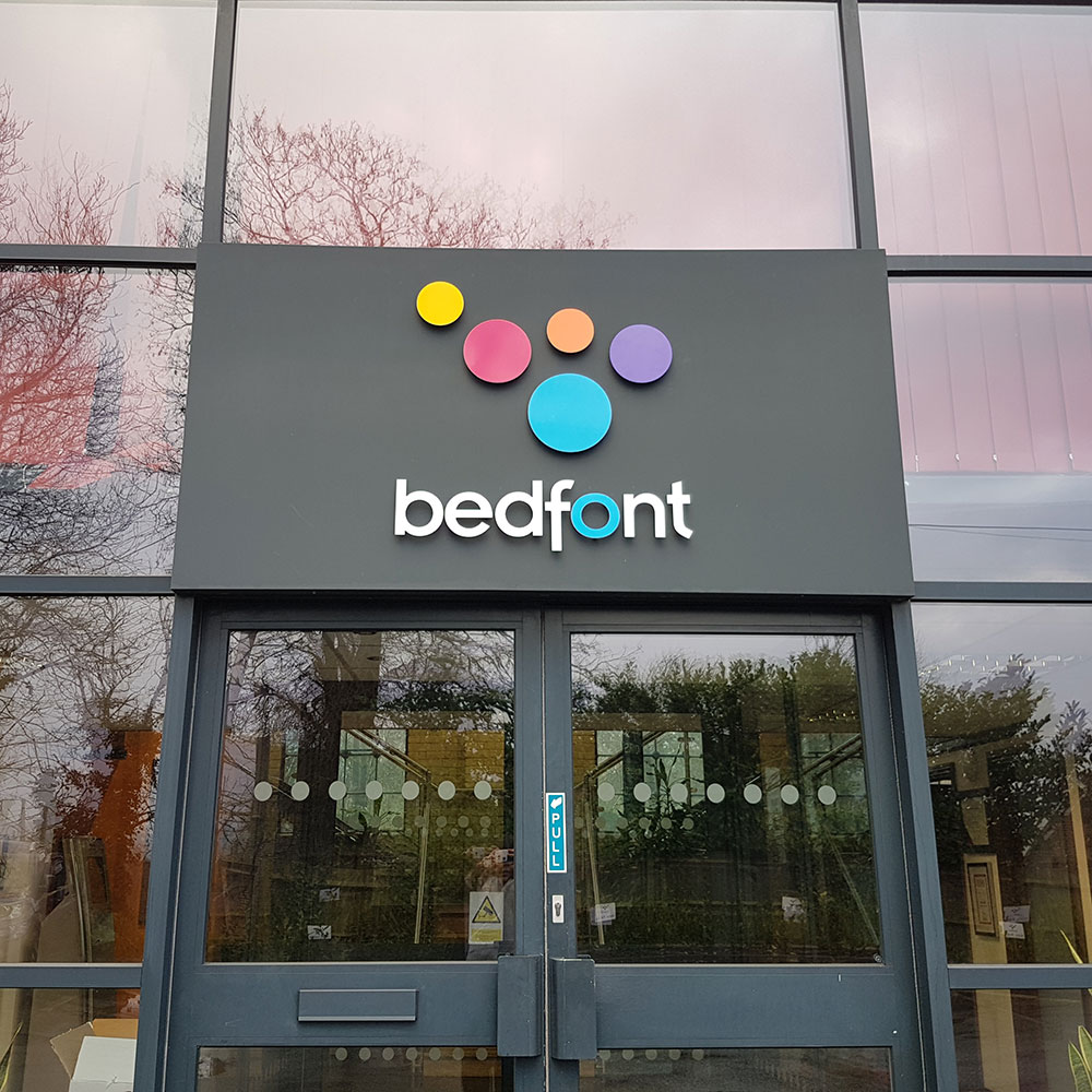 Image of the front of the Bedfont<sup>®</sup> Scientific Ltd. office