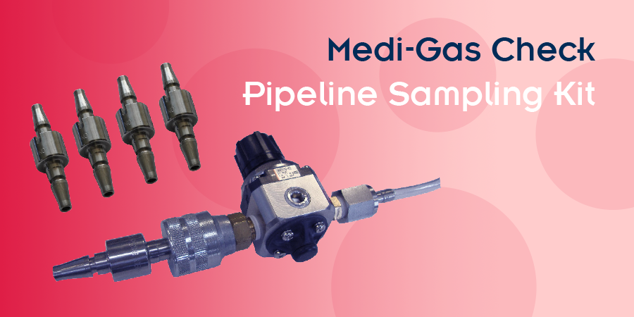 image of the Medi-Gas Check Pipeline Sampling Kit