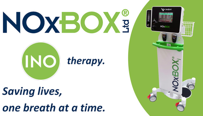 Bedfont's life saving success leads to NOxBOX Limited.